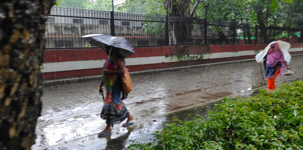 It rained cats and dogs in Delhi