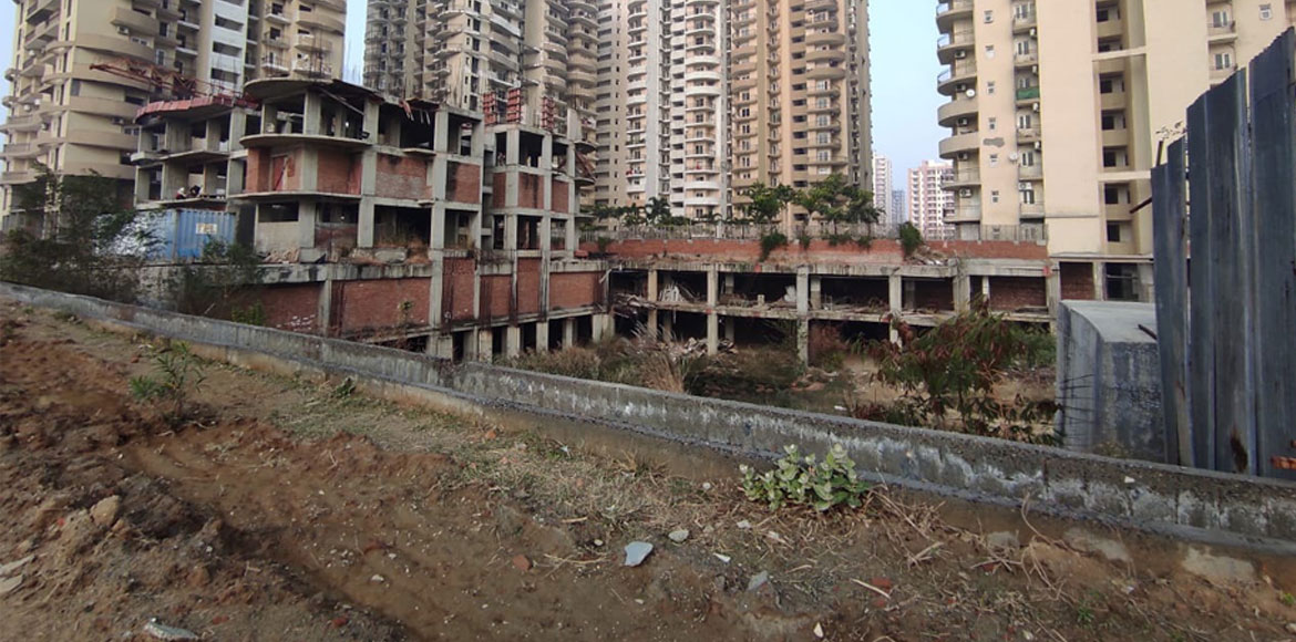 UP RERA team inspects Victoryone Central