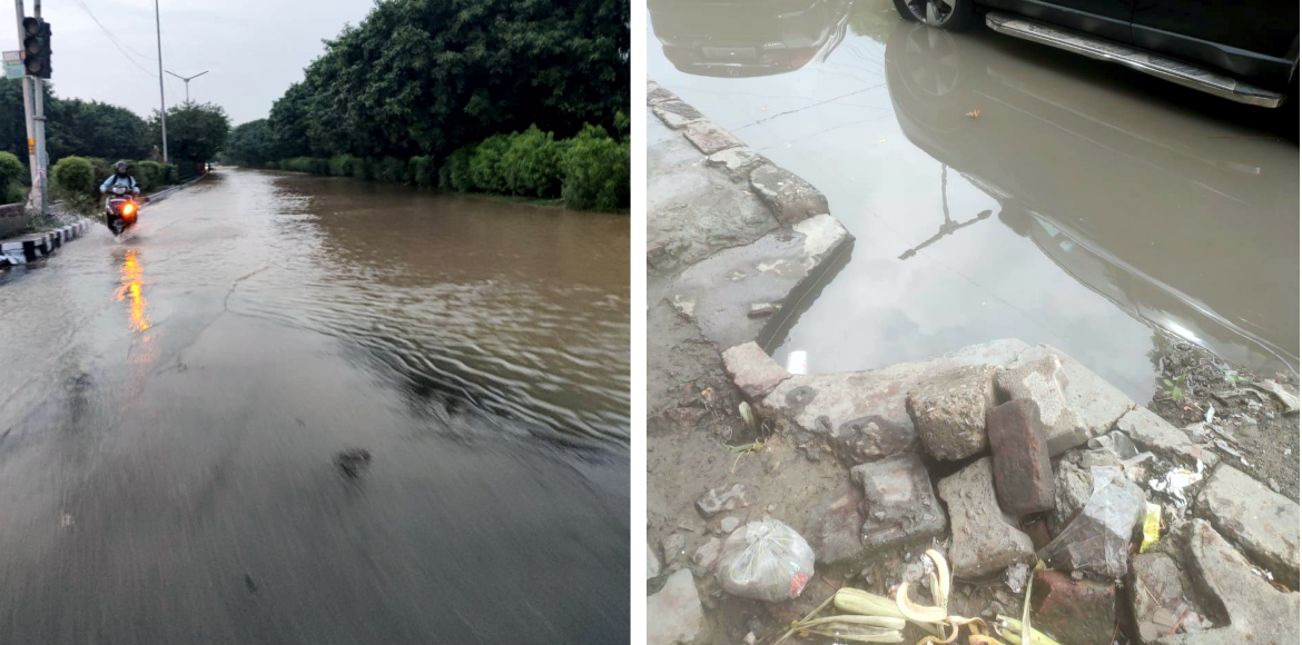 Dwarka: Accumulated water poses potential threat o
