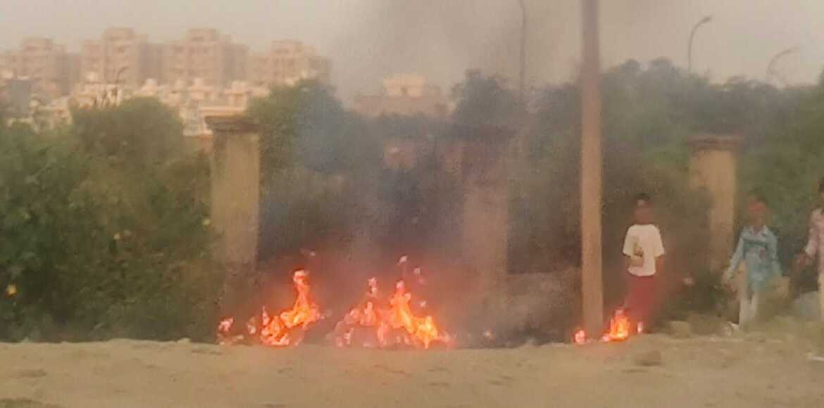 Burning of garbage: Environment Activist diligently responds