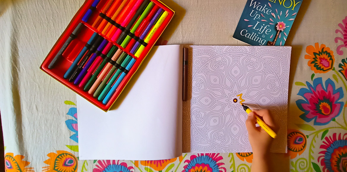 Adult colouring: Why should kids have all the fun?