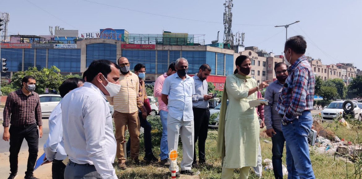 Beautification of roundabouts, intersections to st