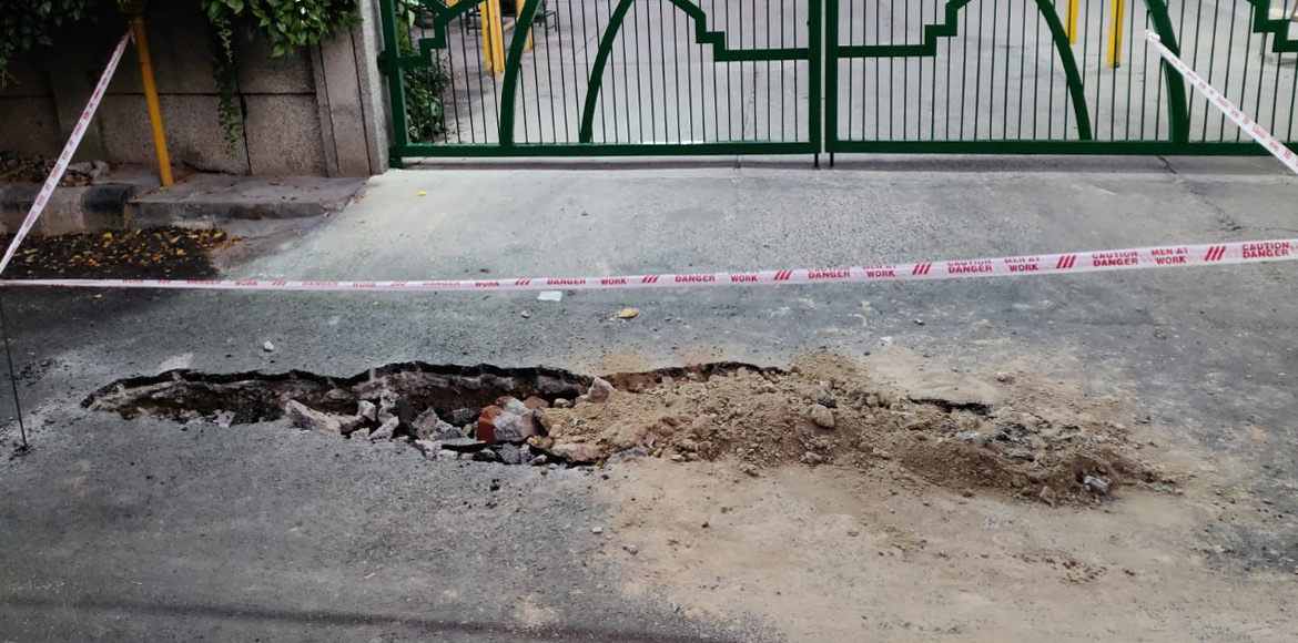 Another cave-in incident reported from Dwarka