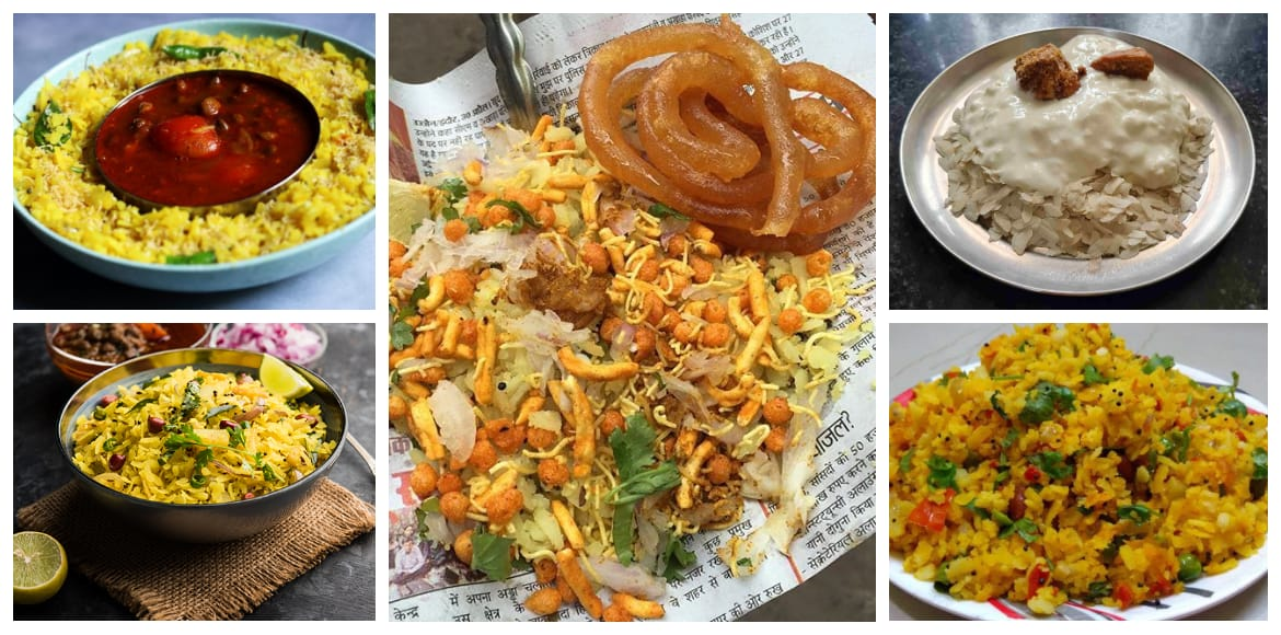 Poha from different states of India