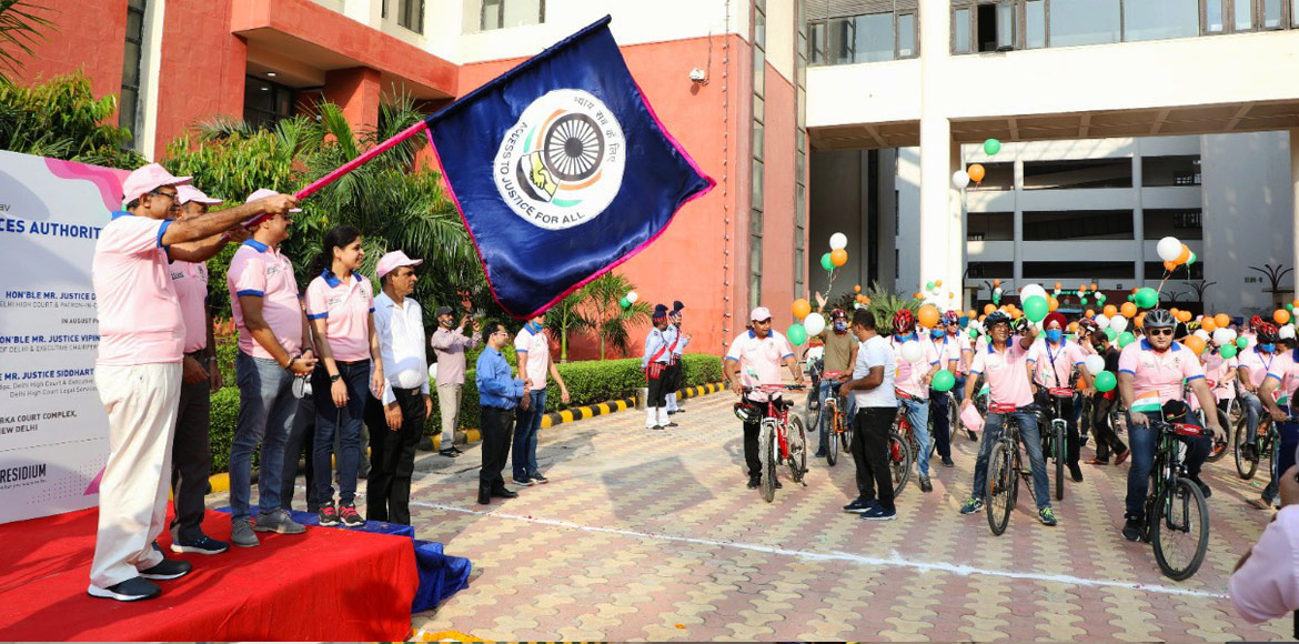 South-West DSLSA organises cycle rally in Dwarka
