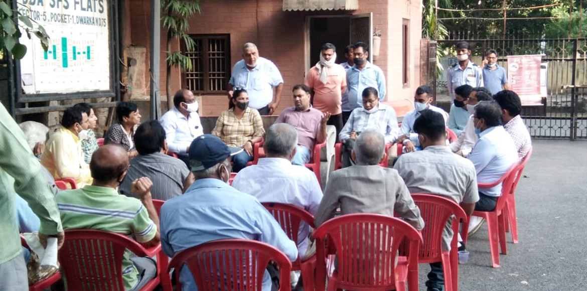 Dwarka: RWA raises civic issues in follow up meeting with MLA and officials