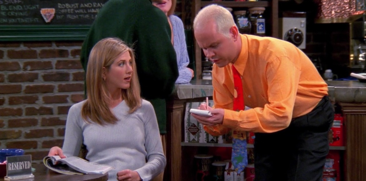 Gunther's most iconic dialogues in Friends