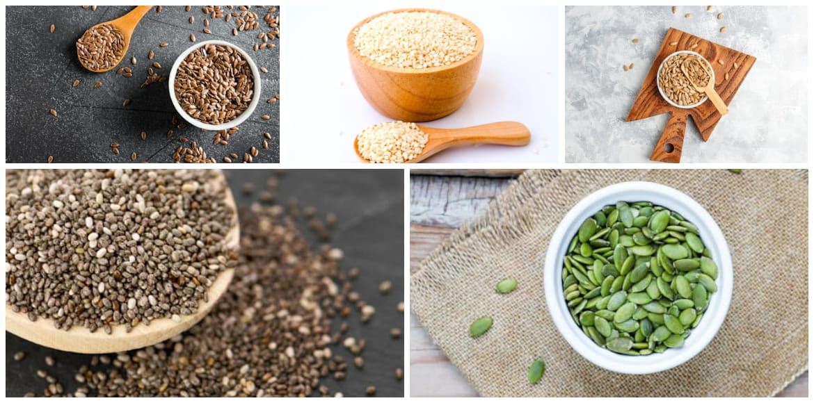 Add a crunch to every meal with tasty edible seeds