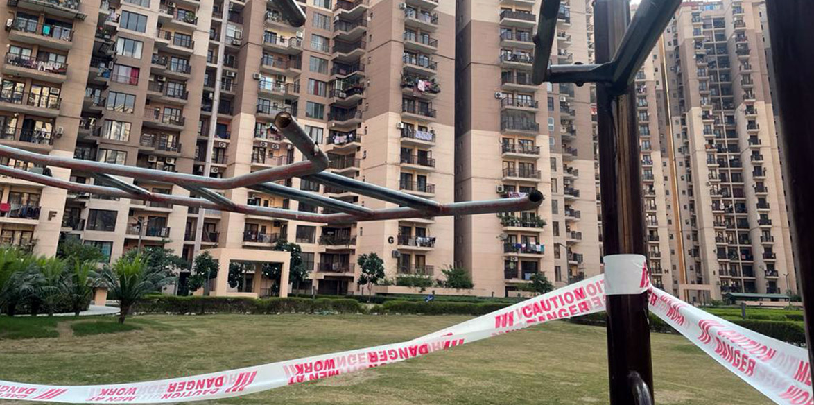 Logix County Noida residents write to Police Commissioner on unsafe play areas