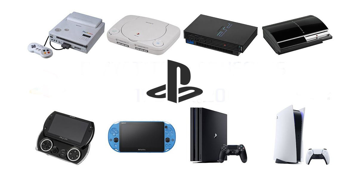 Evolution of the PlayStation