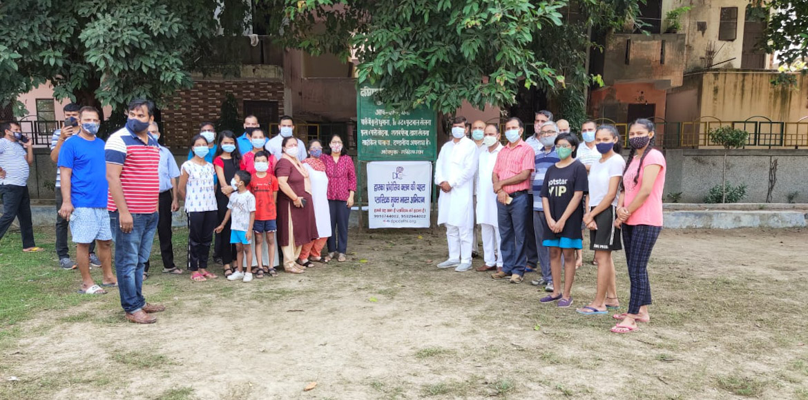 Studio Apartments: Residents celebrate Gandhi Jayanti with cleanliness drive