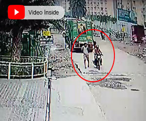 In the first incident, two motorcycle-borne men triedsnatching a gold chain from Ankur Sharma outside Arihant Arden. While in the second case,&n...