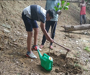 During the drive, they planted various saplings including Neem, Peepal, Champa, and others. ...